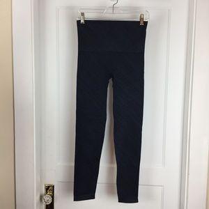Spanx Black/Blue Leggings Size Large
